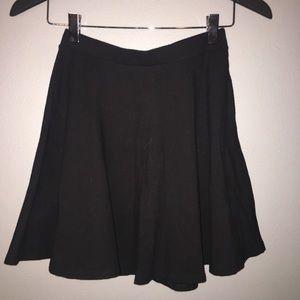 """Black """"skater"""" skirt"""